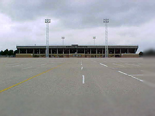 Ratliff Stadium in Odessa, Texas. The site of Friday Night Lights,